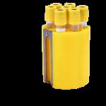 Jogo de porta tubos com 48 tubos 16x100mm (5,0ml) ou 12ml urina