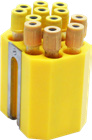 Jogo de porta tubos com 48 tubos 16x100mm (10ml) ou 12ml urina
