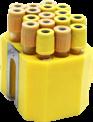 Jogo de Porta Tubos com 68 tubos 13x75mm (3,5ml)