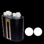 Jogo de 6 porta-tubos com capacidade total para 12 tubos TF Test®