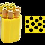 72 Tubos 16 mm x 100 mm ou 12 ml urina.