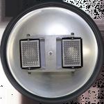 Rotor opcional em liga de aço especial, para 2 microplacas